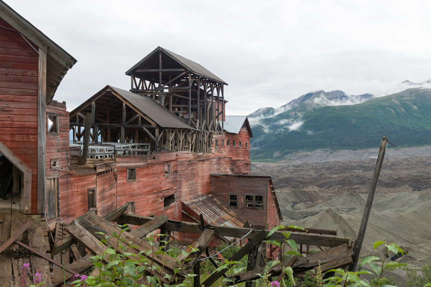 Alaska Kennecott Copper Mine