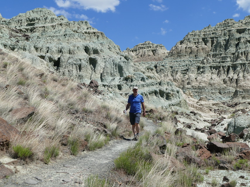 John D Fossil Beds-Blue Basin