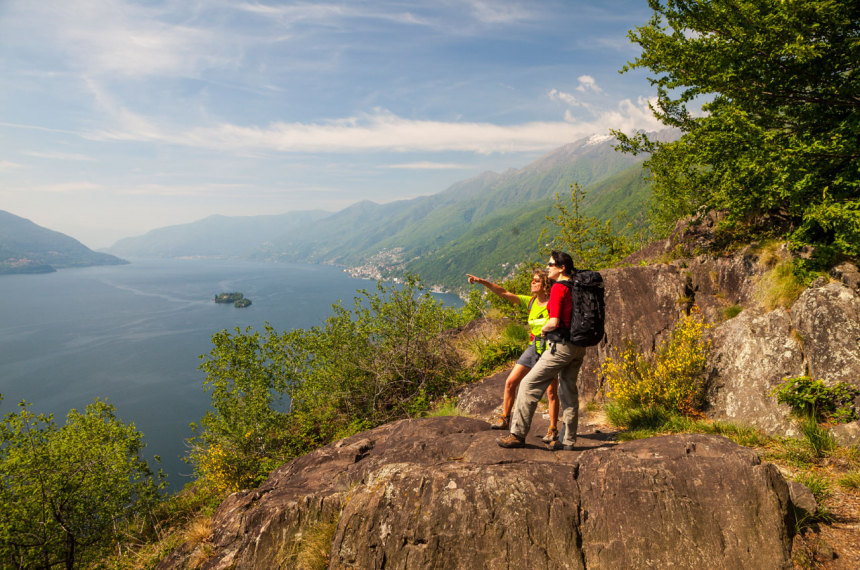 Wandelen Lago Maggiore Wandelen Italie En Zwitserland Oppad Nl